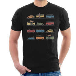 Official Volkswagen Vans And Beetles Men's T-Shirt - POD66