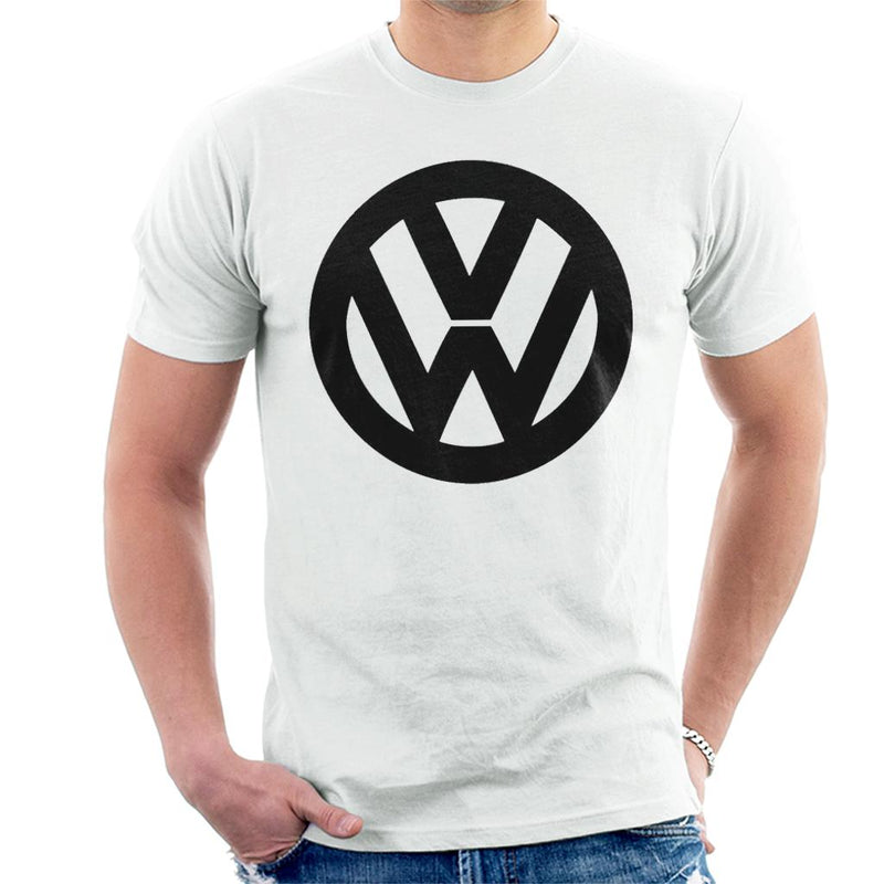 Official Volkswagen Classic Black VW Logo Men's T-Shirt