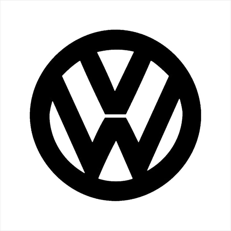 Official Volkswagen Classic Black VW Logo Men's T-Shirt - POD66