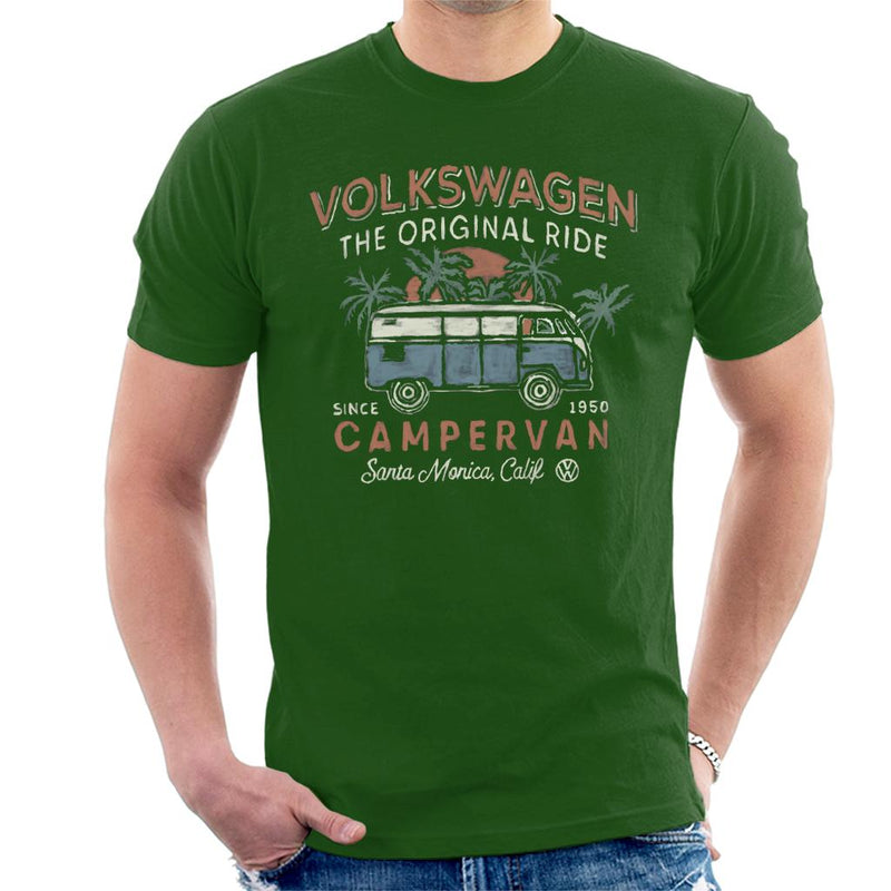 Official Volkswagen The Original Ride Campervan Men's T-Shirt - POD66