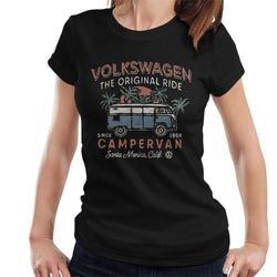 Official Volkswagen The Original Ride Campervan Women's T-Shirt - POD66