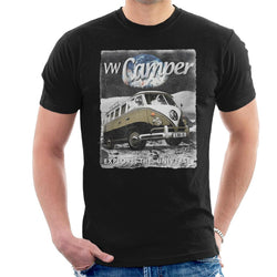 Official Volkswagen Moon Camper Men's T-Shirt - POD66