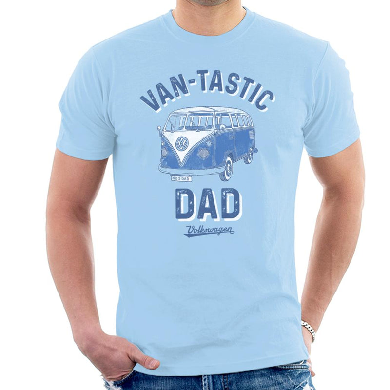 Volkswagen Van Tastic Dad Men's T-Shirt - POD66