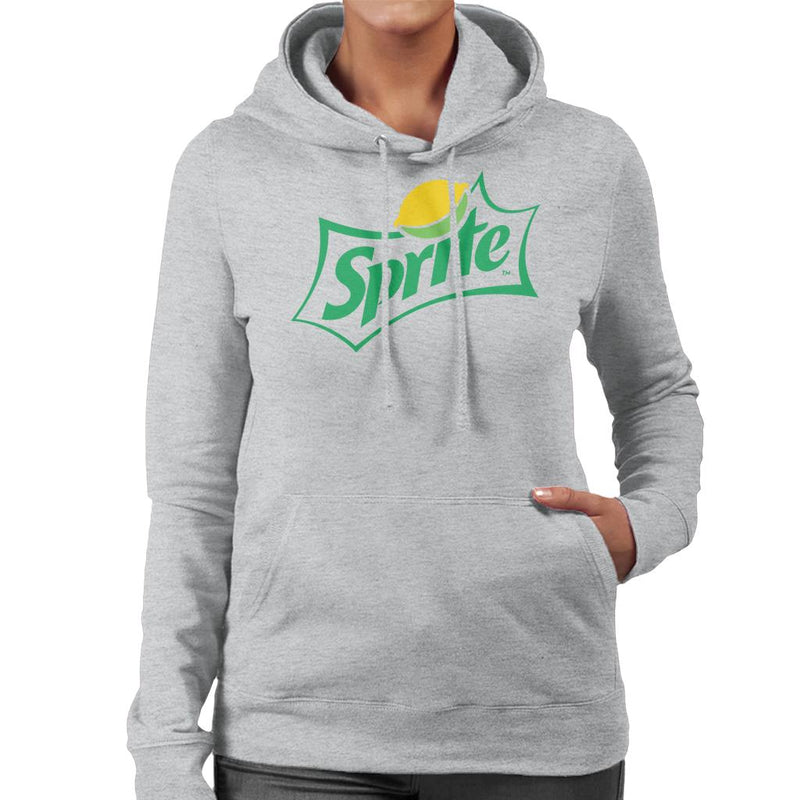 Sprite Classic Lemon Logo Women's Hooded Sweatshirt - POD66