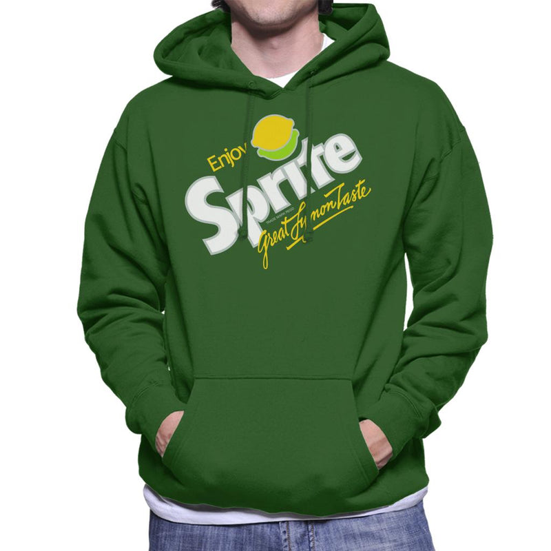 Sprite 80s Retro Logo Men's Hooded Sweatshirt - POD66