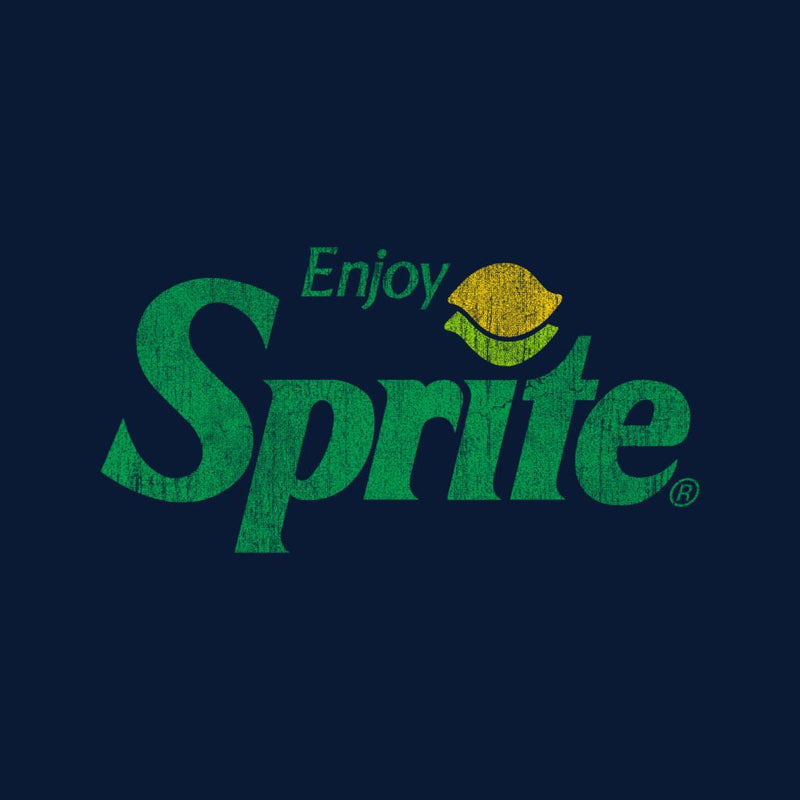 Enjoy Sprite Distressed Logo Men's Hooded Sweatshirt - POD66