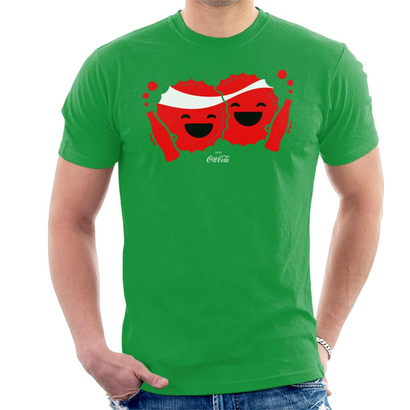 Coca Cola Emoji BFFs Men's T-Shirt - POD66