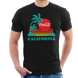 Coca Cola California Sunset Men's T-Shirt - POD66
