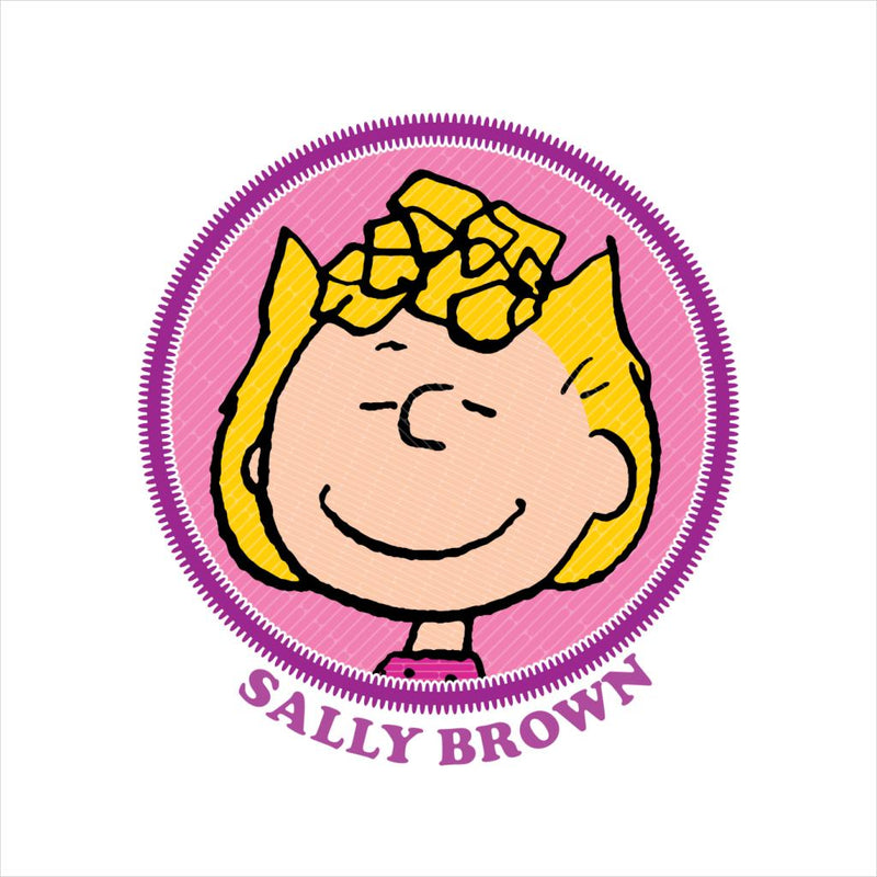 Peanuts Sally Brown Badge Women's T-Shirt - POD66