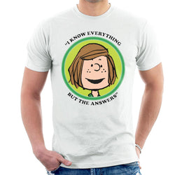 Peanuts Peppermint Patty Badge Men's T-Shirt - POD66