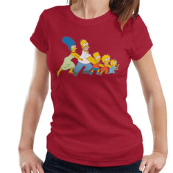 The Simpsons All Together Now Women's T-Shirt - POD66