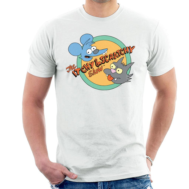 The Simpsons Itchy And Scratchy Show Men's T-Shirt - POD66