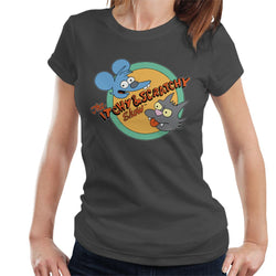The Simpsons Itchy And Scratchy Show Women's T-Shirt - POD66