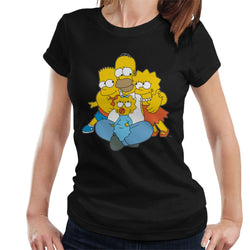 The Simpsons All Eyes On You Women's T-Shirt - POD66