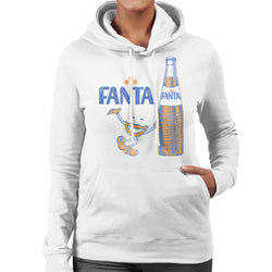 Fanta 1970s Retro Bottle Women's Hooded Sweatshirt