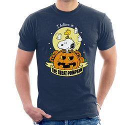 Peanuts Halloween The Great Pumpkin Men's T-Shirt - POD66