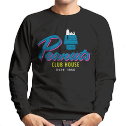 Peanuts Snoopy Club House Men's Sweatshirt - POD66