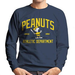 Peanuts Athletic Department Charlie Brown Men's Sweatshirt - POD66
