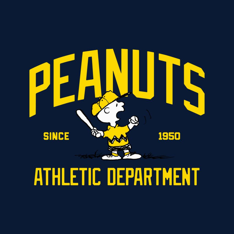 Peanuts Athletic Department Charlie Brown Men's T-Shirt - POD66