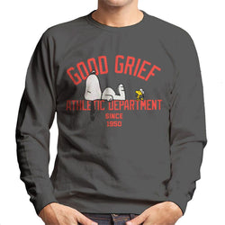 Peanuts Good Grief Athletic Department Men's Sweatshirt - POD66
