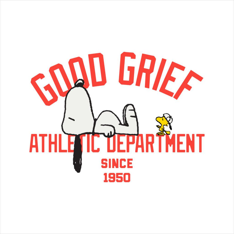 Peanuts Good Grief Athletic Department Men's T-Shirt - POD66