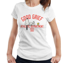 Peanuts Good Grief Athletic Department Women's T-Shirt - POD66