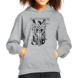 Flash Gordon Dale Trio Kid's Hooded Sweatshirt - POD66
