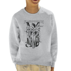 Flash Gordon Dale Trio Kid's Sweatshirt - POD66