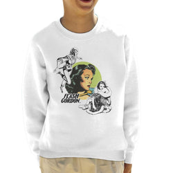 Flash Gordon Dale Montage Kid's Sweatshirt - POD66