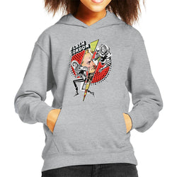 Flash Gordon Lightning Bolt Kid's Hooded Sweatshirt - POD66