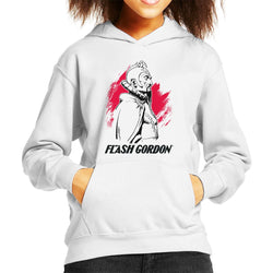 Flash Gordon Ming Montage Kid's Hooded Sweatshirt - POD66