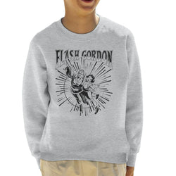 Flash Gordon Flying Couple Kid's Sweatshirt - POD66