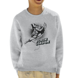 Flash Gordon Rope Swing Kid's Sweatshirt - POD66