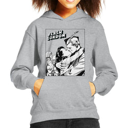 Flash Gordon & Dale Kiss Kid's Hooded Sweatshirt - POD66