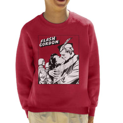 Flash Gordon & Dale Kiss Kid's Sweatshirt - POD66