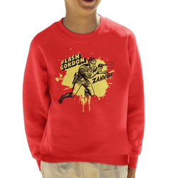 Flash Gordon Ray Gun Zanng Kid's Sweatshirt - POD66