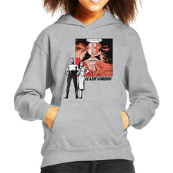 Flash Gordon Couple Montage Kid's Hooded Sweatshirt - POD66