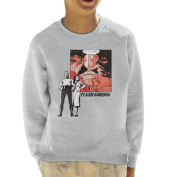 Flash Gordon Couple Montage Kid's Sweatshirt - POD66