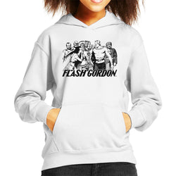 Flash Gordon Group Kid's Hooded Sweatshirt - POD66
