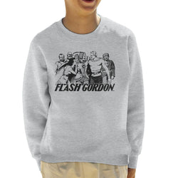 Flash Gordon Group Kid's Sweatshirt - POD66