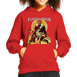 Flash Gordon Ming Toast Kid's Hooded Sweatshirt - POD66