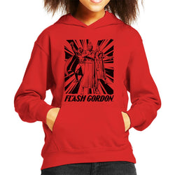Flash Gordon Ming Trio Kid's Hooded Sweatshirt - POD66