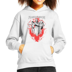 Flash Gordon Flame Trio Kid's Hooded Sweatshirt - POD66