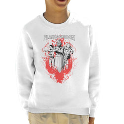Flash Gordon Flame Trio Kid's Sweatshirt - POD66