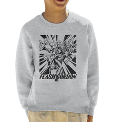 Flash Gordon Space Suit Trio Kid's Sweatshirt - POD66