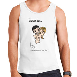 Love Is Being Swept Off Your Feet Men's Vest - POD66