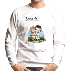 Love Is Wanting Many Things But Only Needing Each Other Men's Sweatshirt - POD66
