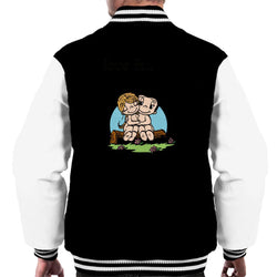 Love Is Wanting Many Things But Only Needing Each Other Men's Varsity Jacket - POD66