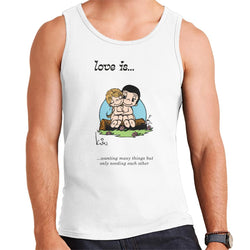 Love Is Wanting Many Things But Only Needing Each Other Men's Vest - POD66