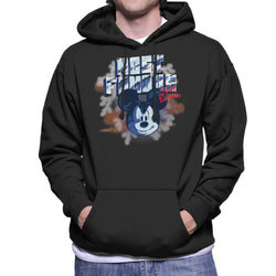 Disney Mickey Mouse Band Most Famous Not Basic Men's Hooded Sweatshirt - POD66